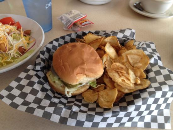 Jamestown, OH: The $3.00 1/3 lb burger special of the day!