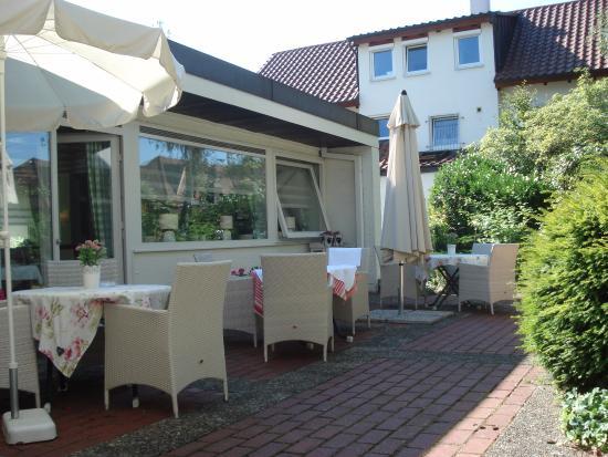 Kurhotel Markushof: Кафе отеля Маркусхоф