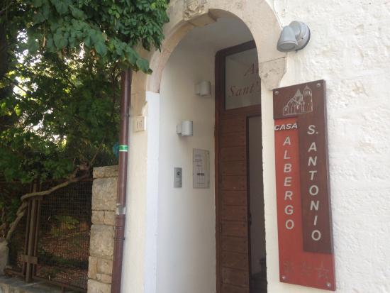 Hotel Sant'Antonio: Entrata