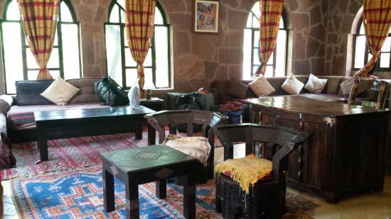Ourika Garden: Indoor View