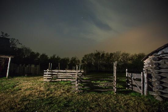 One of the barns at the Barrington Living Farm located in the Washington-on-the-Brazos State Par
