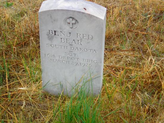 Pine Ridge, SD: A US Military Veteran