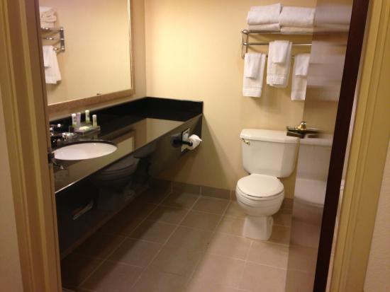 Wingfield Inn & Suites : Bathroom