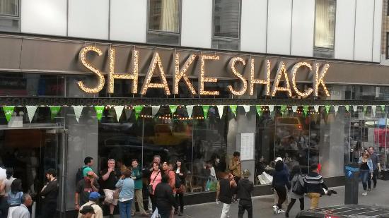 Shake Shack: Great burgers and custard shakes