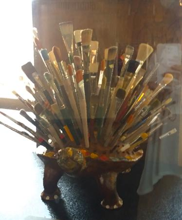 Art Center of Corpus Christi: Bouquet of paint brushes!