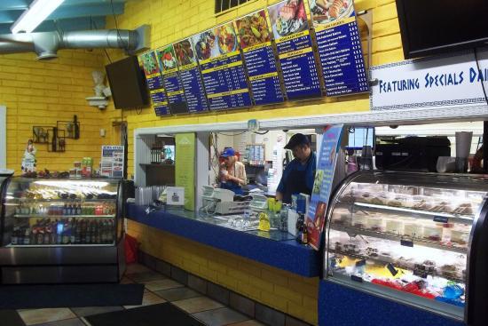 King Gyros Greek Restaurant: KING GYROS - Ordering / Cashier