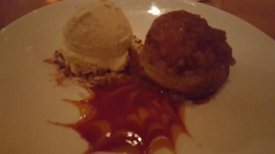 Pineapple upside down cake and coconut ice cream - Picture of Roy's ...