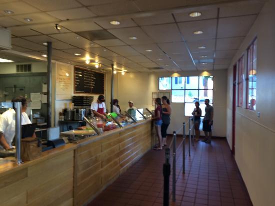 Freebird's World Burrito: Counter