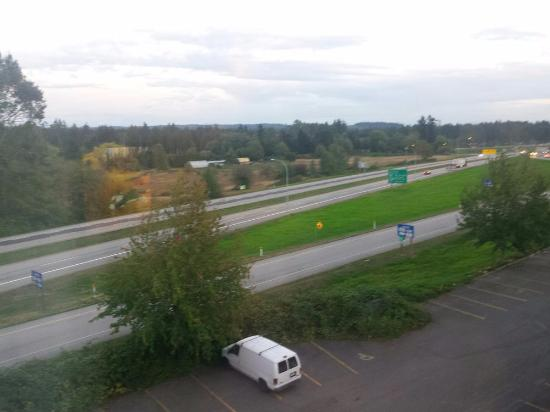 Pacific Inn Resort and Conference Centre: view from room