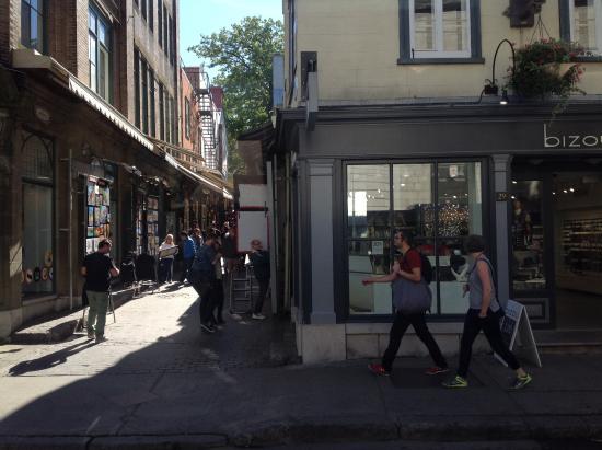 Rue du Tresor : Vista lateral da ruazinha