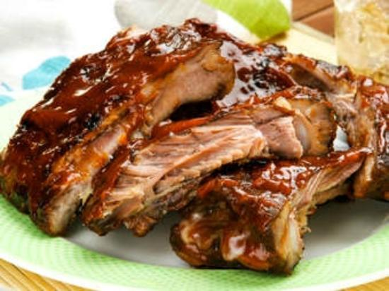 Wausau, WI: Hickory smoked fall-of-the-bone pork ribs!