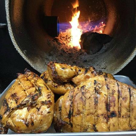 Wausau, WI: Hickory Smoked Chicken.