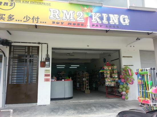 Skudai, Malaysia: RM 2 King