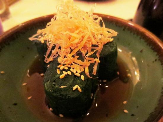 Nishino: Spinach starter