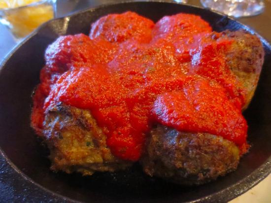 The Attic at Salish Lodge & Spa: Hearty meatballs