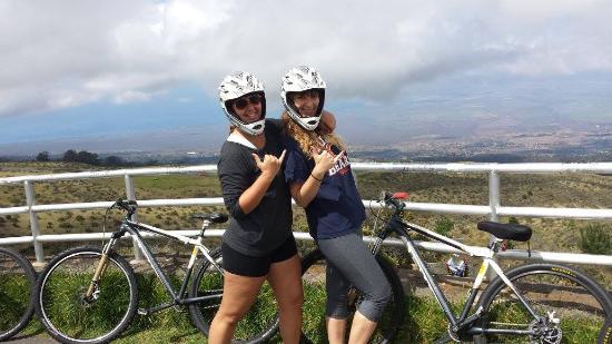 Пайя, Гавайи: Near the top, enjoying the amazing view