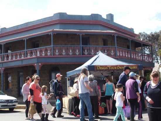 Talbot, Australië: Market stall