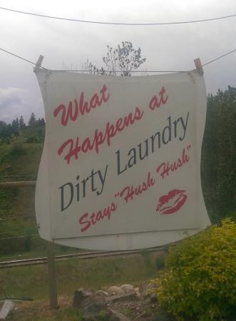 Summerland, Canada: Dirty Laundry Winery - Shhhh