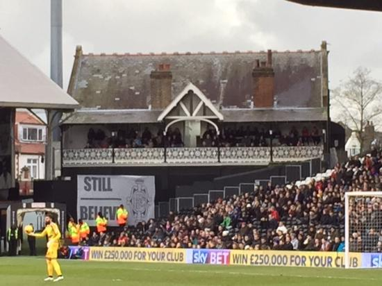 Inside Craven Cottage - Matchday 14 Feb 2015 v Ipswich ...