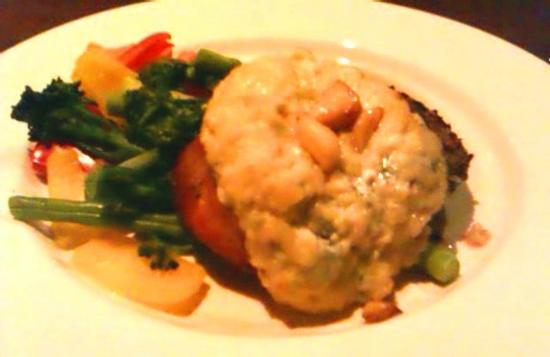 The Keg : blue cheese filet mignon