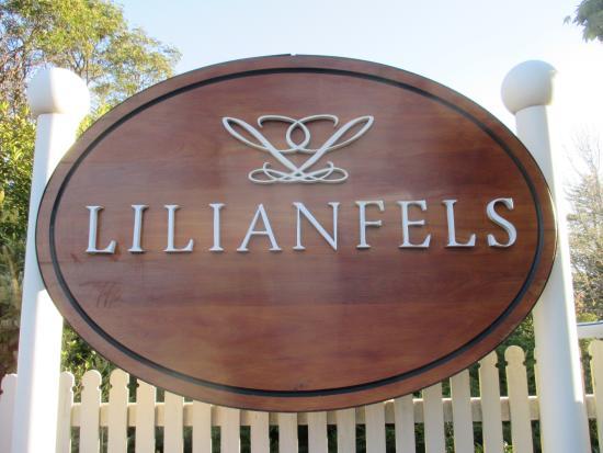 The Lounge at Lilianfels: sign