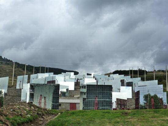 Heliodyssee - Grand Four Solaire d'Odeillo : Les miroirs