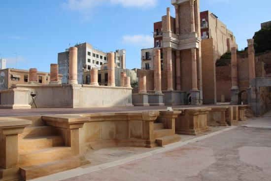 Tapas bar - Picture of Roman Theatre Museum, Cartagena ...