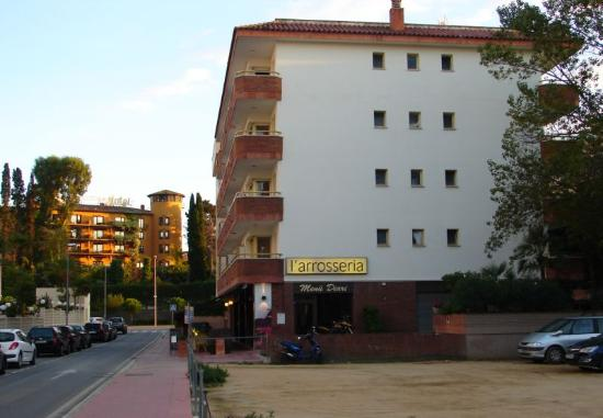 Apartamentos Eldorado : вид с улицы