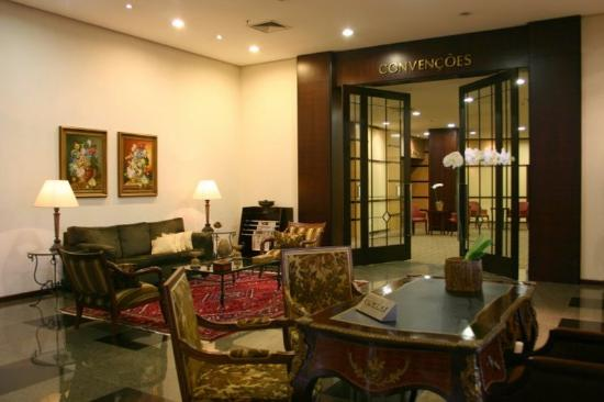 Hotel Deville Prime Porto Alegre: Convention Center Lobby