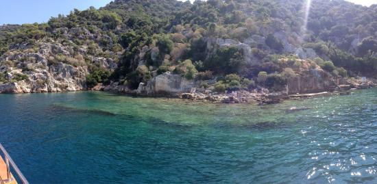 photo1.jpg - dennis boat kaş günlük veya özel tur teknesi ...