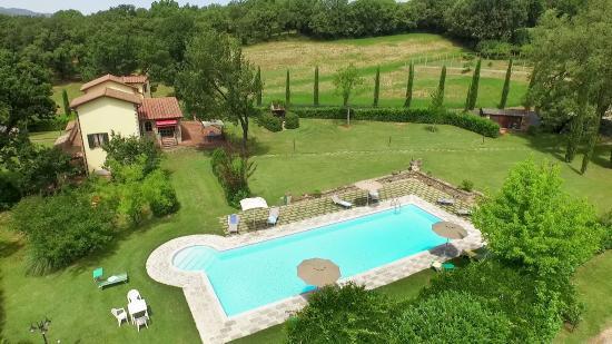 Villa Ferraguzzo: piscina