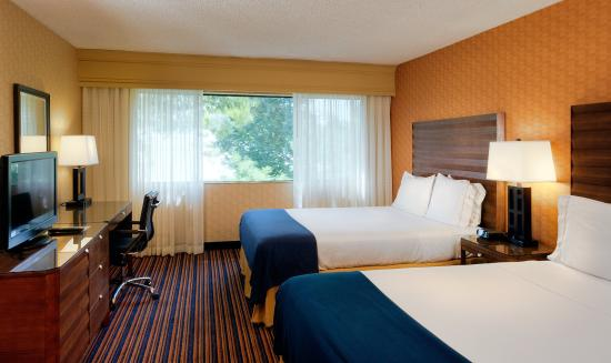 Holiday Inn Express Sacramento Convention Center: Double Bed Guest Room