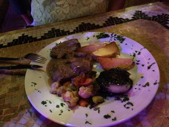 Torreblanca, İspanya: Lebanese meal