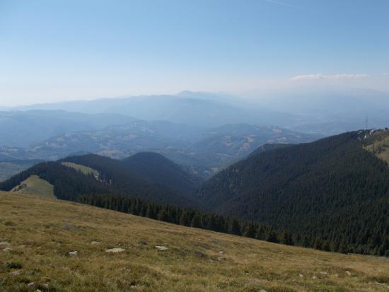 Petrosani, Ρουμανία: mountins view