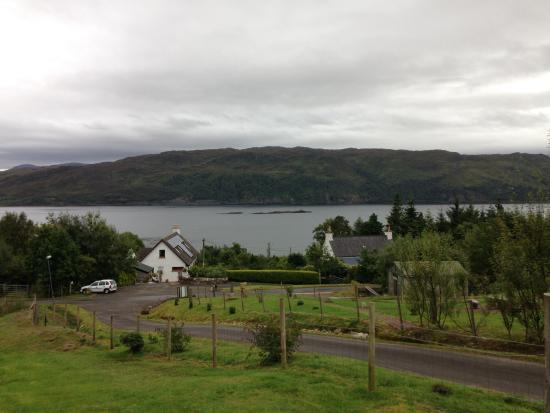 Lochcarron, UK: View over Loch Carron