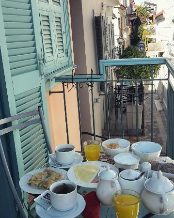 Aphroditi Pension Luxury Rooms: Aroma Guesthouse