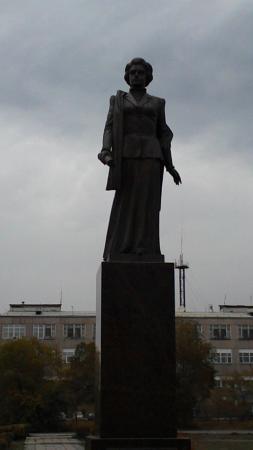 Monument to Vera Balandina