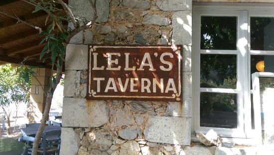 Lela's Taverna Restaurant : Start of Oct 2015 - open 19.00-2300 closed Tuesday's