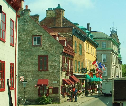 Interesting architecture picture of old quebec quebec for Architecture quebec