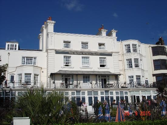 Royal Albion Hotel: Seafront Photo of Hotel