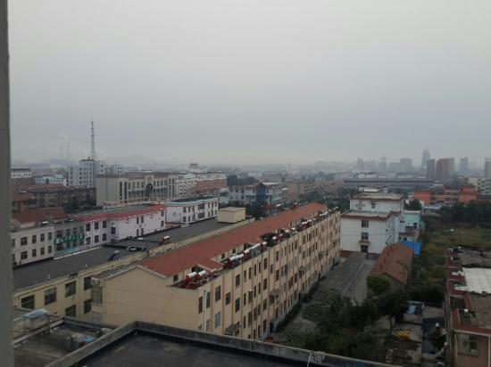 Yishui County, Chine : Yishui town View from 804