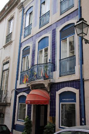 Hotel Anjo Azul: La facciata