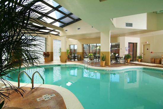 Indoor pool picture of embassy suites by hilton - Indoor swimming pools charlotte nc ...