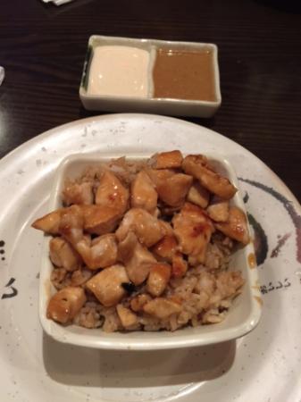 junior chicken hibachi bowl picture of hibachi of japan naples