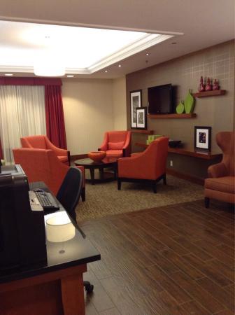 Hampton Inn St. Louis Southwest : Lobby area