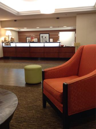Hampton Inn St. Louis Southwest : Check in area