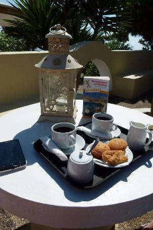 Mesaria, Grecia: café offert