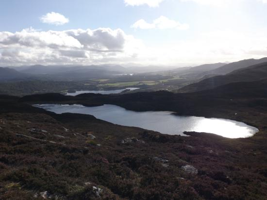 Aviemore, UK: towards Kingussie, from the summit cairn