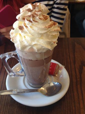 Saddlers Cafe and Bistro: ホットチョコレートドリンク