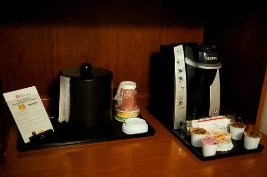 Rockaway, Νιού Τζέρσεϊ: In room coffee